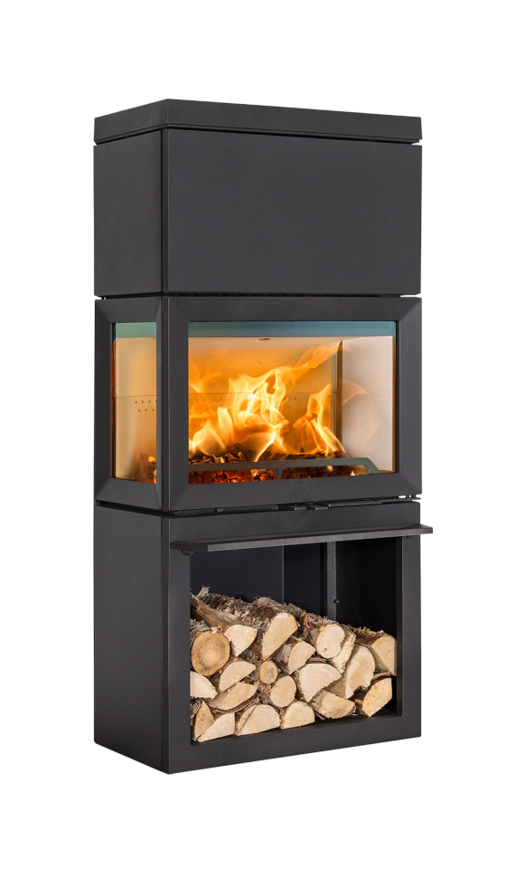 Печь-камин Jotul F 520 HIGH TOP фото 1 — Студия Каминов